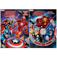 The Avengers Set Of 2 Coloring And Activity Books Niftywarehouse NiftyWarehouse