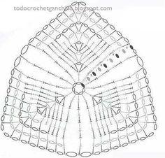 Captivating Crochet a Bodycon Dress Top Ideas. Dazzling Crochet a Bodycon Dress Top Ideas. Crochet Lingerie, Bikinis Crochet, Crochet Bra, Crochet Bikini Top, Crochet Clothes, Crochet Stitches Chart, Crochet Motifs, Crochet Patterns, Crochet Triangle