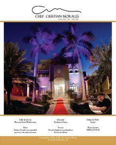 Publicidad Chef Cristian Morales
