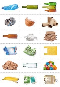Earth Day Trash Sorting Practical Life Activity - The Little Montessori House Recycling Activities For Kids, Recycling For Kids, Diy Crafts For Kids, Art For Kids, Earth Day Activities, Activities For Adults, Preschool Activities, Earth Day Projects, Earth Day Crafts