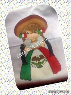 Pintura en tela 15 de Septiembre Good Things, Ideas, Bathroom Sets, Mexican Fiesta Party, Viva Mexico, Mexican, Fiestas, Manualidades, Thoughts