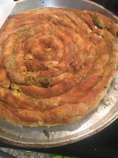 φύλλο αερος2 Yami Yami, Cypriot Food, Greek Pastries, Eat Greek, Greek Recipes, Ratatouille, Pain, Food And Drink, Pizza