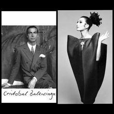 Cristobal Balenciaga e un suo splendido abito