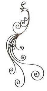 Iron Scroll Wall Art - Ideas on Foter Peacock Sketch, Peacock Drawing, Peacock Tattoo, Peacock Art, Mandala Tattoo, Henna Tattoos, Body Art Tattoos, Tatoos, Henna Patterns