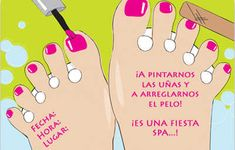 Invitaciones gratis para una fiesta Spa | Fiesta101