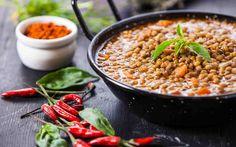 Helpot ja maukkaat sitruunamarinoidut linssit