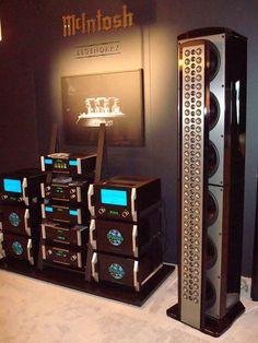 Audiophile Speakers, Speaker Amplifier, Hifi Audio, Audio Speakers, Carver Amplifier, Mc Intosh, Fi Car Audio, Poste Radio, Cd Player
