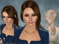Unofficial Hairstyle Set by Cazy - Sims 3 Downloads CC Caboodle