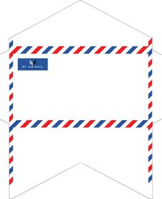 free pdf-Envelope Templates - Monarch-Size Airmail x 3 More envelope templates, this time allowing you to print your own air mail envelopes on letter-size paper. They come in three variations:. Envelope Carta, Diy Envelope, Envelope Design, Envelope Pattern, Airmail Envelopes, Mail Art Envelopes, Envelope Template Printable, Free Printable, Pocket Letter