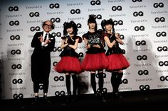 GQ JAPAN編集長・鈴木正文とBABYMETALの3人で「Only The FOX GOD Knows!」