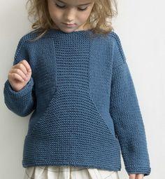 Modèle pull marin Enfant