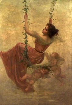 Edouard Bisson, French painter (1856-?)