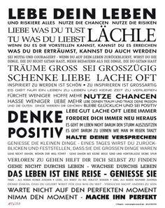 #Leben #Lächle