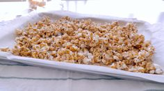 « Cracker Jack » maison (sans arachides ni produits laitiers) Quebec, Popcorn Toppings, Homemade Crackers, Chips, Biscuits, Smart Kitchen, Cakes And More, Peanuts, Healthy Lifestyle