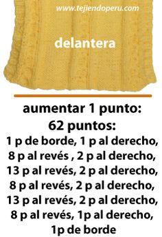 Porta bebe - Tejiendo Perú Baby Boy Knitting Patterns, Baby Knitting, Crochet For Kids, Knit Crochet, Baby Cocoon, Bebe Baby, Knitted Baby Clothes, Knitwear Fashion, Baby Cardigan