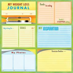 printable food journal weight loss free printables pinterest