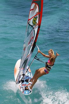 My Vision to spend more time on my sailboard playing in the water off Captiva Island.