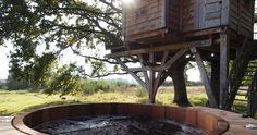 La cabane du perche et son bain nordique