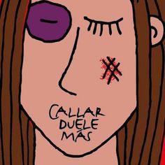 25 de Noviembre - Día Internacional de la NO Violencia Contra la Mujer The Ugly Truth, Feminist Art, Intersectional Feminism, Abusive Relationship, Power Girl, Domestic Violence, Watercolor Illustration, Powerful Women, Riot Grrrl