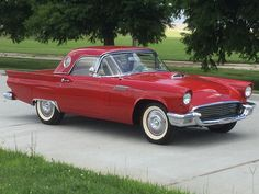 1957 Ford Thunderbird - my dream car...always wanted one. My son had a '63 once, but it was always the '57s that caught my eye!