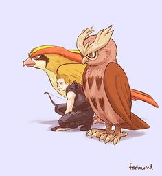 Agent Clint Barton's Pokemon team.