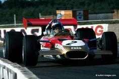 Jochen Rindt su Lotus Ford, Silverstone 1969