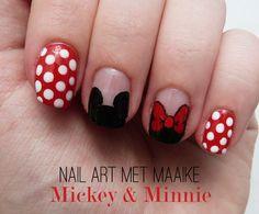 nail_art_met_maaike_ mickey _minnie01