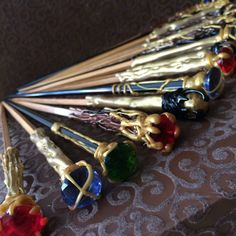 Harry Potter wand party favors Ollivander's by MadDragonStudio
