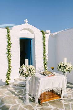 Greek Island Wedding Planners - stellaandmoscha - Luxury Wedding in the Athenian Riviera, church wedding, Greek orthodox wedding, church decorations, summer wedding, destination wedding, wedding in Greece