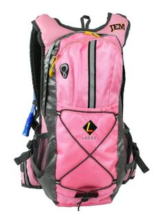 Pin it! :)  Follow us :))  zCamping.com is your Camping Product Gallery ;) CLICK IMAGE TWICE for Pricing and Info :) SEE A LARGER SELECTION of hyrdration packs at http://zcamping.com/category/camping-categories/camping-backpacks/hydration-packs/ - hydration pack, camping, backpacks, camping gear , camp supplies -  Ledge Sports Jem Hydration Pack (Pink) « zCamping.com