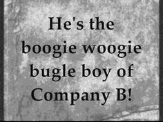 The Andrews Sisters - Boogie Woogie Bugle Boy (1941) love this song