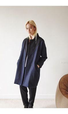 Matieres a reflexion manteau Georges M/N------#matieresareflexion #manteau #coat #laine #wool #coton #cotton #gris #grey #blue #bluenavy #bleu #black #noir #madeinparis
