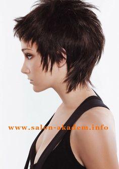 Стрижка гаврош на короткие волосы фото #ФотоГаврош  http://www.salon-akadem.info/strizhka-gavrosh-na-korotkie-volosy-foto.php