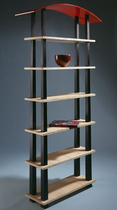 John Makepeace    Furniture Designer and Maker    'Spectrum' Shelves