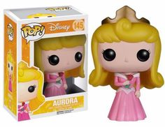 The beautiful Sleeping Beauty is known by many names, originally Princess Aurora and later renamed Briar Rose for her protection. Holding a red rose and wearing her pink ball gown, the princess makes a charming vinyl figure. The Sleeping Beauty Aurora Pop! Vinyl Figure measures approximately 3 3/4-inches tall. #funko #collectible #popvinyl #actionfigure #toy #disney #TheSleepingBeauty #Aurora