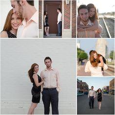 Bree & Matt | Downtown Engagement Session | Abilene Kansas Engagement | Joe R Geske Photography | Manhattan Kansas Wedding & Engagement Photographer | Kansas Wedding Photographer