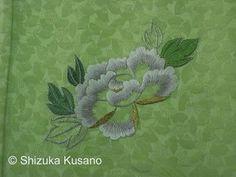 Japanese Embroidery: Shizuka Kusano Japanese Embroidery Exhibition