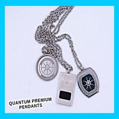 Quantum Pendant is made of Stainless Steel and are both enhanced with scalar energy that helps to improve the body's biofield. The Quantum Pendant helps in the positive flow of energy and helps to maintain energy balance. It helps to restore energy that has become weak in the body. Quantum Pendants are none magnetic, not electrical and requires no maintenance. * srp-PH5,999 * Distributed by: PHB Worx International Restore, Flow, Pendants, Stainless Steel, Personalized Items, Hang Tags, Pendant, Charms