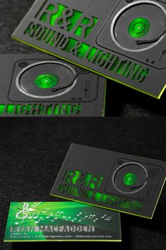 This a (triple layered) business card with green foil, colored edges and a custom die cut. This is a great example of how to brand yourself as a company. This professional business card is bound to leave a great impression for your business. Thick Business Cards, Makeup Business Cards, Gold Business Card, Elegant Business Cards, Professional Business Cards, Creative Business, Business Card Design Inspiration, Photography Business Cards, Logo Design