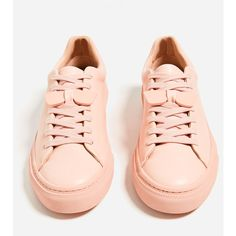 SUNGLASSES PLIMSOLLS - View all-SHOES-WOMAN | ZARA United States (385 MAD) ❤ liked on Polyvore featuring shoes and sneakers