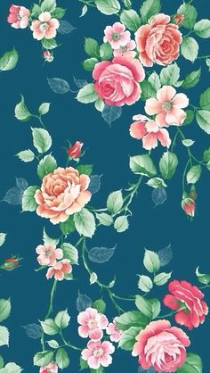Floral background iPhone 5s Wallpaper Download | iPhone Wallpapers, iPad wallpapers One-stop Download