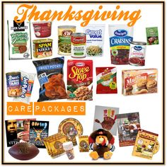 6 Ways to Send Thanksgiving in a Care Package!