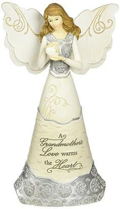 Elements Faith Angel Figurine by Pavilion, Holding Cross, Inscription with God All Things Are Possible Birthday Gifts For Grandma, Best Birthday Gifts, Grandma Gifts, Grandmothers Love, 31st Birthday, Collectible Figurines, All Things, Things To Sell, Inspirational Gifts