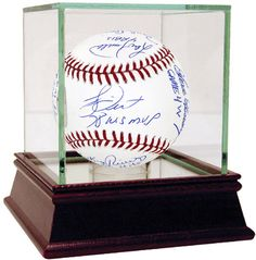 1978 Yankees Multi Signed and Inscribed 1978 World Series Baseball (12 Sigs) (MLB Auth) (Lyle, Gossage, Dent, Jackson, Randolph, Rivers, Chambliss, White, Nettles, Blair, Piniella, Guidry)