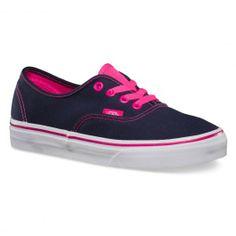 VANS Authentic (Pop) dress blue / pink glow chaussures filles 65,00 € #vans #vansotw #vansoffthewall #offthewall #vansera #vansauthentic #sneakers #sneaker #shoe #shoes #chaussure #chaussures #skate #skateboard #skateboarding #streetshop #skateshop @PLAY Skateshop