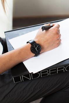 104 SERIES Wristwatch - PVD Black-Black Rubber   Emerson Fry