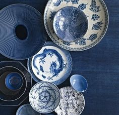 The textures and patterns in these bowls are just great!