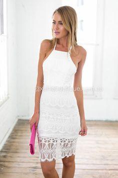 1c1f81573e First Class Lace Dress (White)