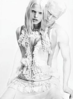 sexy elbinos | ... very interesting: Givenchy casts albino model in latest ad campaign