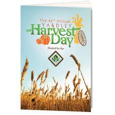 Yardley Harvest Day booklet